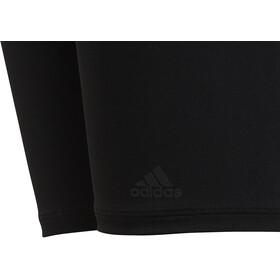 adidas Pro 3-Stripes Bañadores Niños, black/carbon